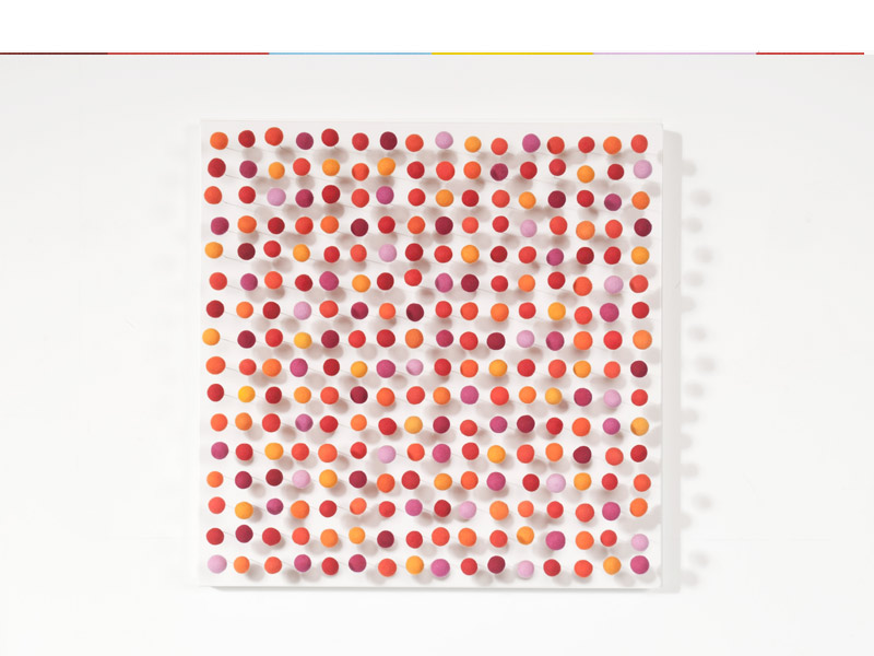 Chroma (2011), 60 x 60cm, Mixed Media